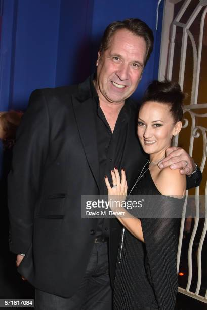 David Seaman and Frankie Poultney attend the World Premiere of 89 at the Odeon Holloway on November 8 2017 in London England