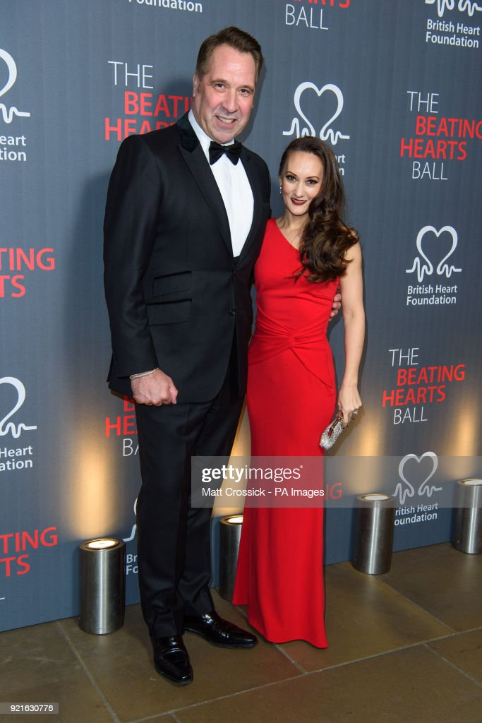 David Seaman and Frankie Poultney, attending the British Heart FoundationÕs Beating Hearts Ball, at The Guildhall in London, which raises funds for the BHF's life-saving research.