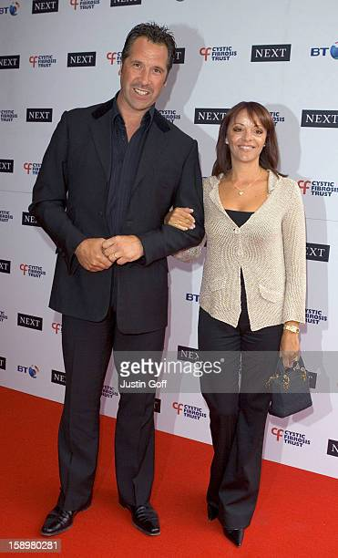 David Seaman Attends The Cystic Fibrosis Trust Breathing Life Awards At London'S Royal Lancaster Hotel