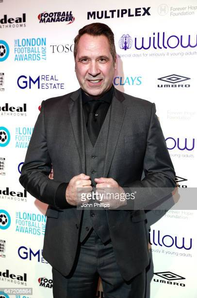 David Seaman attends the London Football Awards on March 2 2017 in London United Kingdom