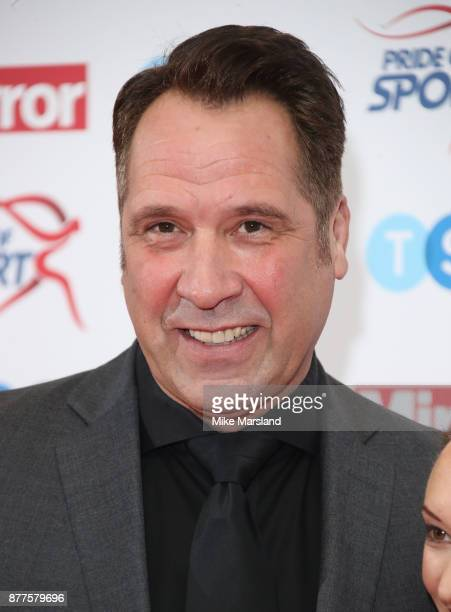 David Seaman attends the Pride of Sport awards at Grosvenor House on November 22 2017 in London England