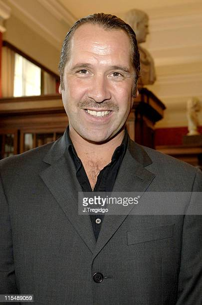 David Seaman during The Willow Foundation Press Launch at The Library Marriot County Hall Hotel in London Great Britain