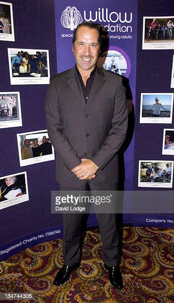 David Seaman during The Willow Foundation Press Launch at The Library Marriott County Hall Hotel SE1 in London Great Britain