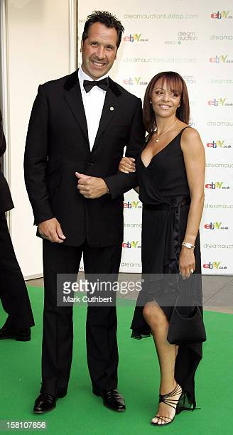 David Seaman Wife Debbie Attend The Dream Auction Full Stop Vip Charity Party At London'S Royal Albert Hall