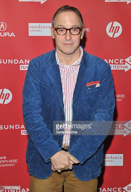 David Sedaris attends the COG premiere at Library Center Theater during the 2013 Sundance Film Festival on January 20 2013 in Park City Utah