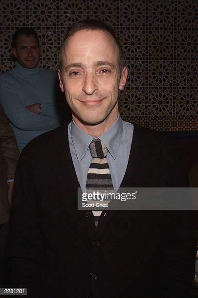 David Sedaris during the party for the opening of the new off Broadway play 'The Book Of Liz' at Fez in New York City 3/26/01 Photo by Scott...