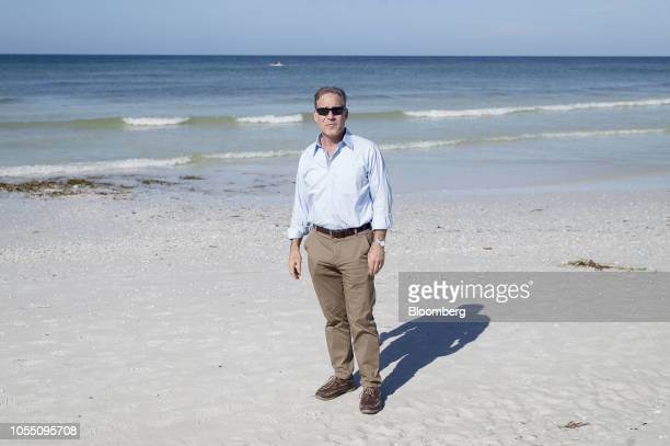 David Shapiro, Democratic U.S. Representative candidate from Florida, stands for a photograph in Siesta Key, Florida, U.S., on Wednesday, Oct. 17,...