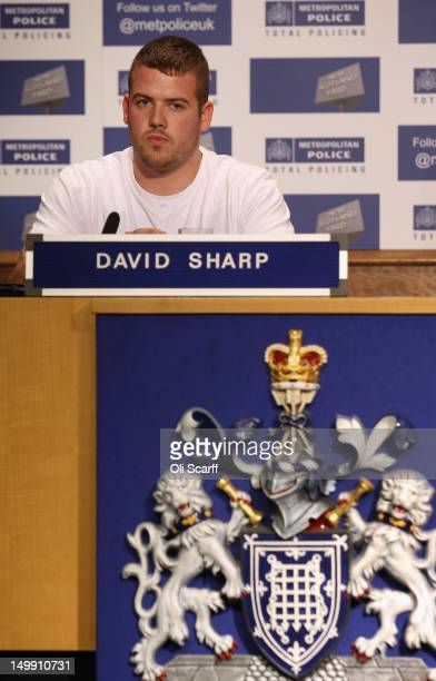 David Sharp the uncle of missing schoolgirl Tia Sharp attends a press conference in New Scotland yard to appeal for her safe return on August 6 2012...