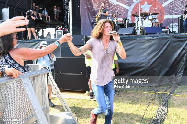 David Shaw of The Revivalists performs at Pilgrimage Music Cultural Festival on September 24 2017 in Franklin Tennessee