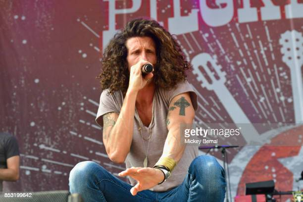 David Shaw of The Revivalists performs during Pilgrimage Music Cultural Festival on September 24 2017 in Franklin Tennessee