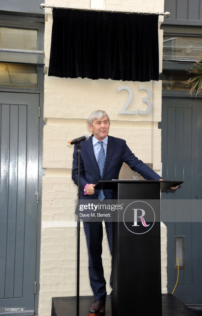 David Shaw speaks at the unveiling of a plaque dedicated to David Bowie's famous character Ziggy Stardust on March 27, 2012 in London, England. The plaque has been installed on Heddon Street, London, which was the location of the album cover photograph for 'The Rise and Fall of Ziggy Stardust and the Spiders from Mars'.