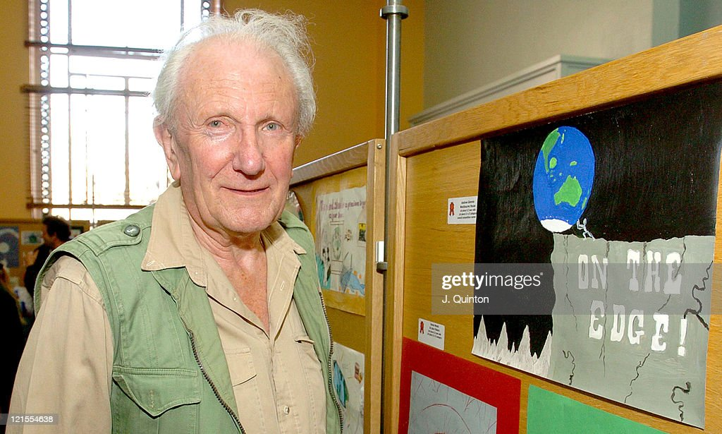 David Shepherd during Children's Global Canvas Art Competition - Photocall at Natural History Museum in London, Great Britain.