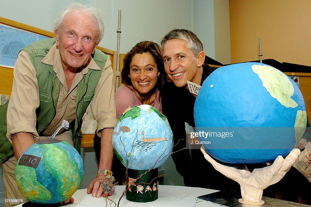 David Shepherd, Saba Douglas-Hamilton and Gary Lineker
