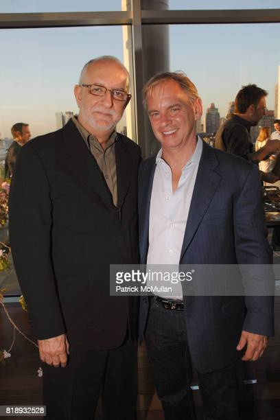 David Sheppard and Mark Blackwell attend First Summer Soiree CELEBRATING 25 YEARS of DIFFA hosted by David Rockwell Whoopi Goldberg and Isabel Ruben...