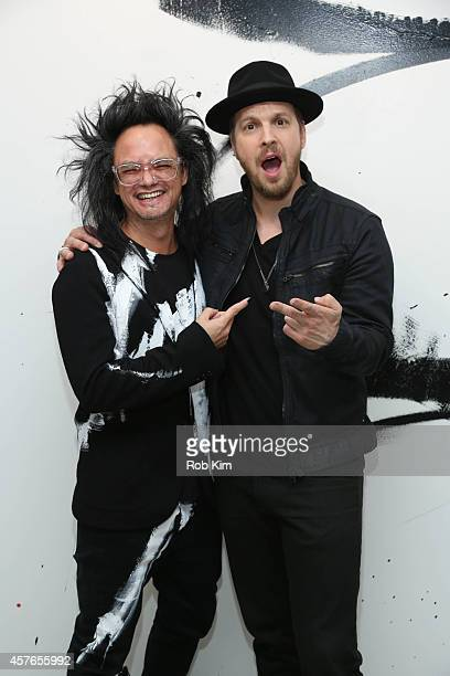 David Shing and Gavin DeGraw attend AOL BUILD Series Presents: Musician, Gavin DeGraw at AOL Studios In New York on October 22, 2014 in New York City.