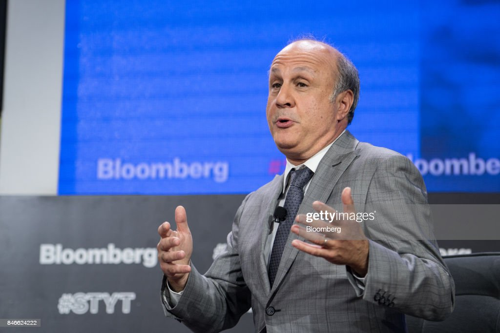 David Siegel, co-founder of Two Sigma Investments LP, speaks during a Bloomberg Technology event in New York, U.S., on Wednesday, Sept. 13, 2017. The event, titled Sooner Than You Think at Cornell Tech, spotlights the technology leaders who are grappling with the challenges of disruptive technology and uncovering hidden opportunities. Photographer: Misha Friedman/Bloomberg via Getty Images