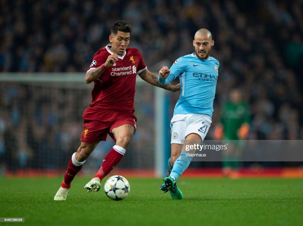 Manchester City v Liverpool - UEFA Champions League Quarter Final Second Leg : ニュース写真