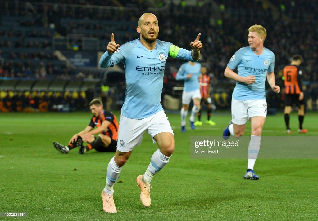 FC Shakhtar Donetsk v Manchester City - UEFA Champions League Group F : News Photo