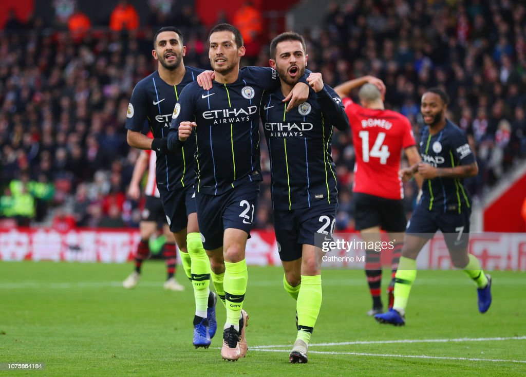 Southampton FC v Manchester City - Premier League : News Photo