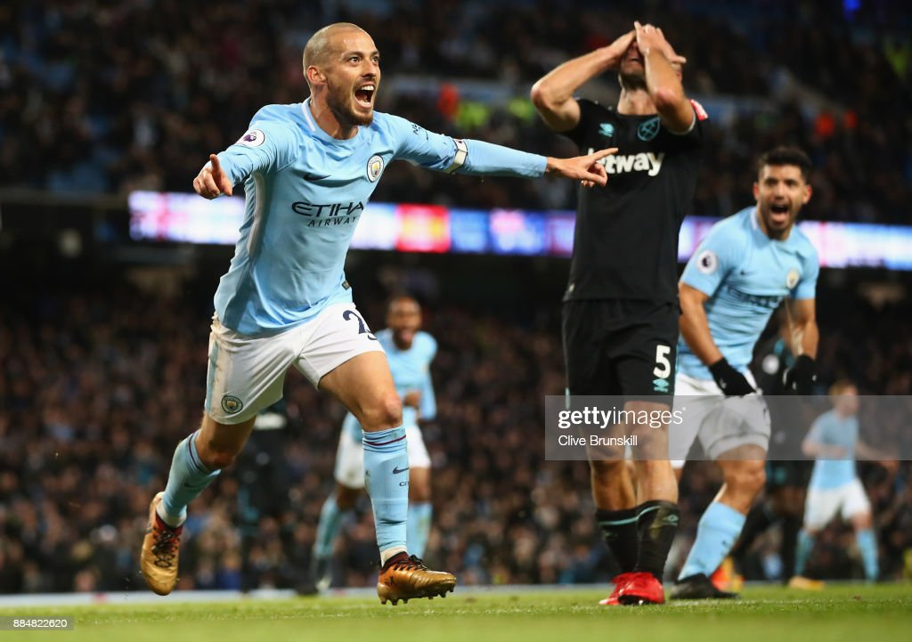 Manchester City v West Ham United - Premier League : News Photo