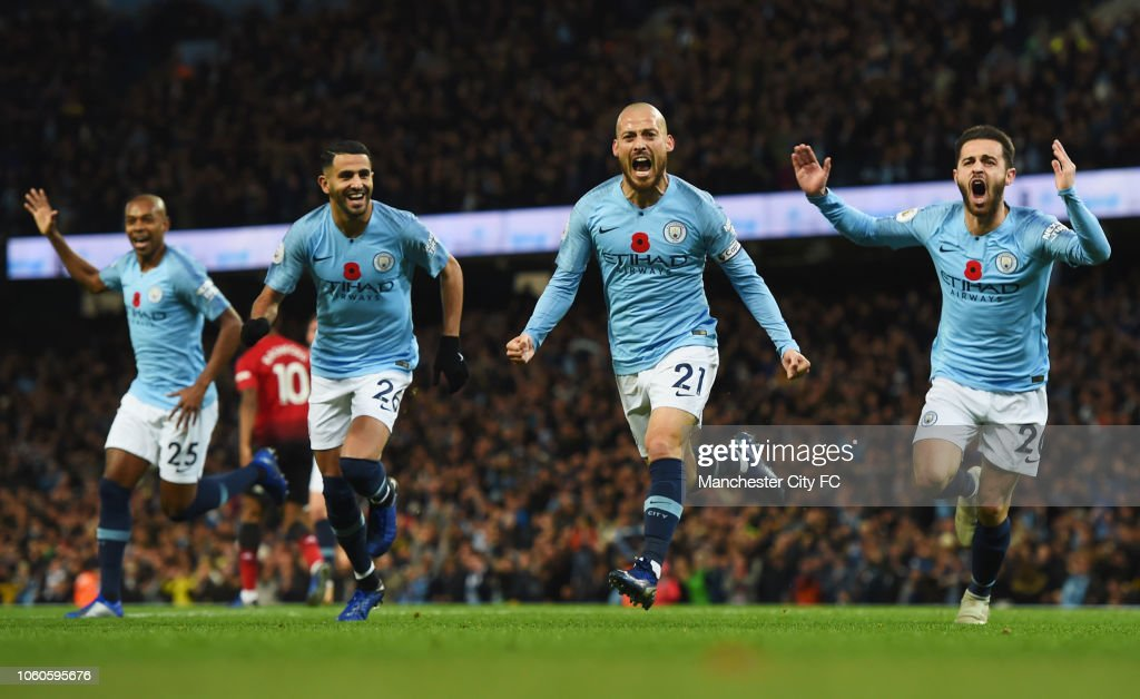 Manchester City v Manchester United - Premier League : Fotografía de noticias