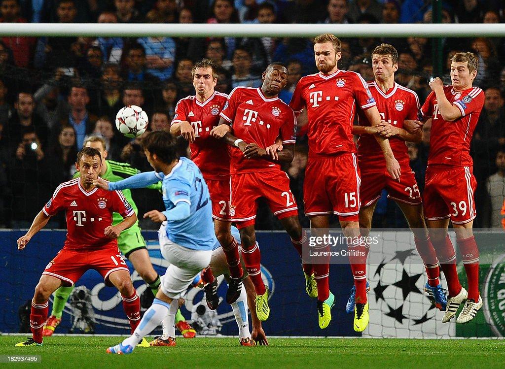 Manchester City v FC Bayern Muenchen - UEFA Champions League : News Photo