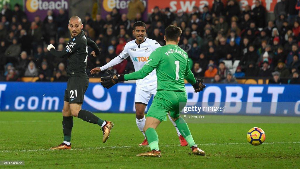 Swansea City v Manchester City - Premier League