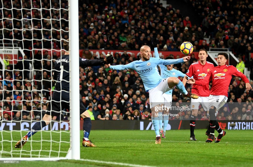 Manchester United v Manchester City - Premier League : ニュース写真