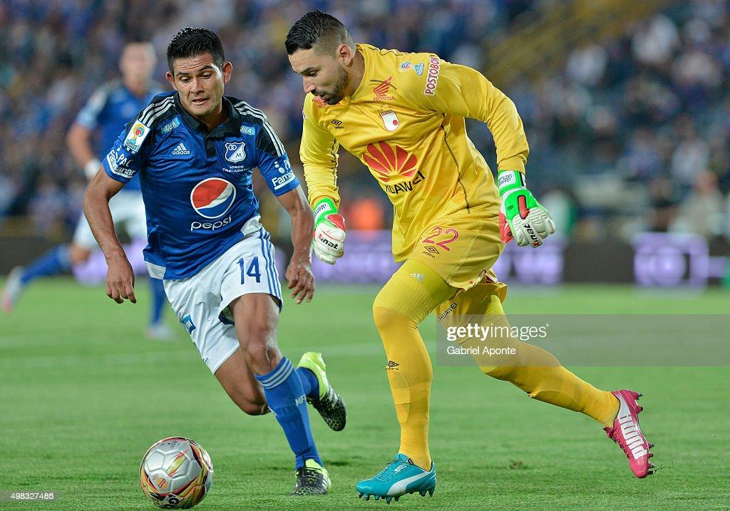 Millonarios v Independiente Santa Fe - Liga Aguila II 2015