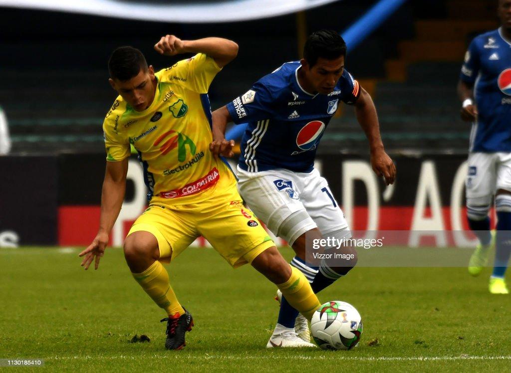 COL: Millonarios v Atlético Huila - Torneo Apertura Liga Aguila 2019