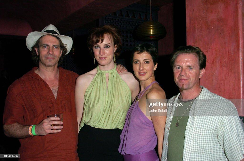 David Silverman, director, Samantha Weaver, Anna Getty and Paul Barnett, director