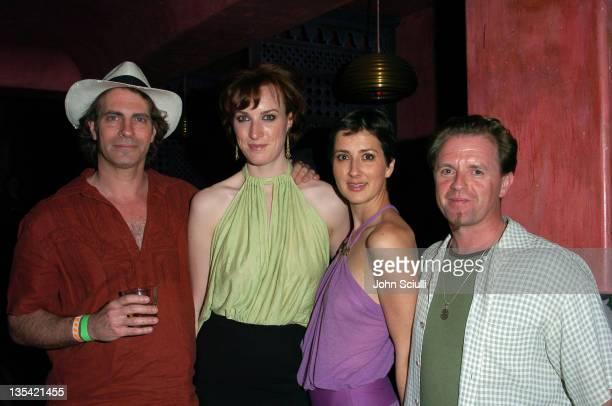 David Silverman director Samantha Weaver Anna Getty and Paul Barnett director