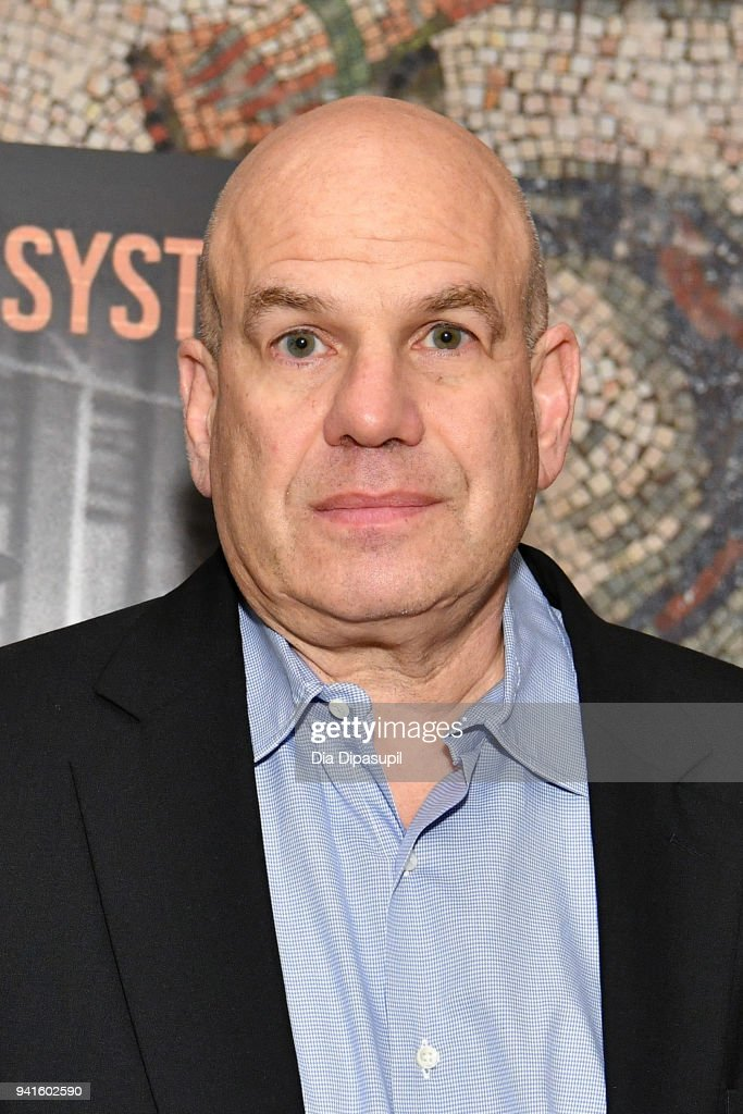 David Simon attends the 'Vice' Season 6 Premiere at the Whitby Hotel on April 3, 2018 in New York City.