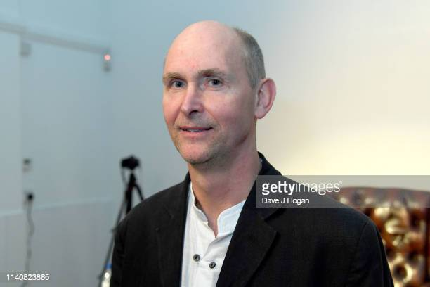 David Singleton manager of King Crimson during the King Crimson 50th Anniversary event at October Gallery on April 06 2019 in London England