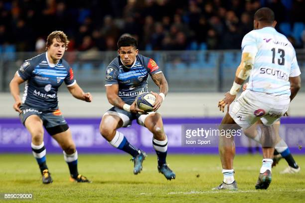 David Smith of Castres during the European Champions Cup match between Castres and Racing 92 on December 9 2017 in Castres France