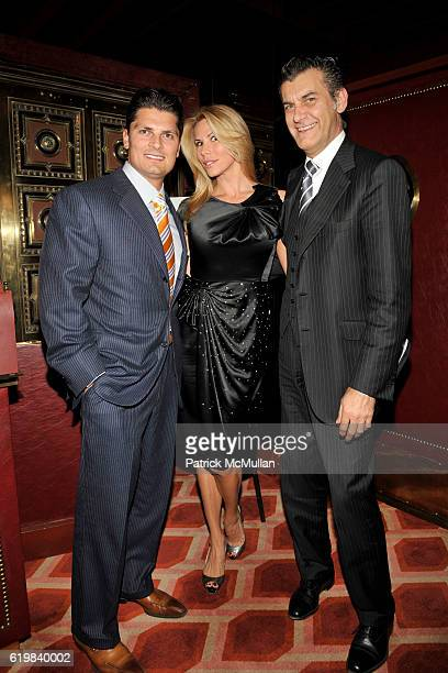 David Solimine Amanda Church and Alfredo Pecora attend Junior Committee Hosts FETE D AUTOMNE for American Hospital Of Paris Cancer Care Initiative at...