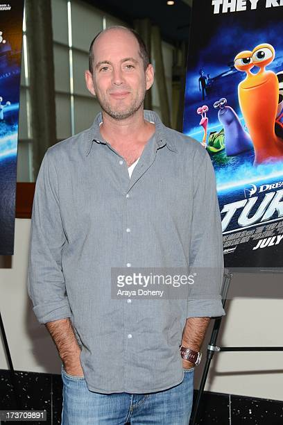 David Soren attends the 'Turbo' Los Angeles Special Screening at ArcLight Hollywood on July 16 2013 in Hollywood California