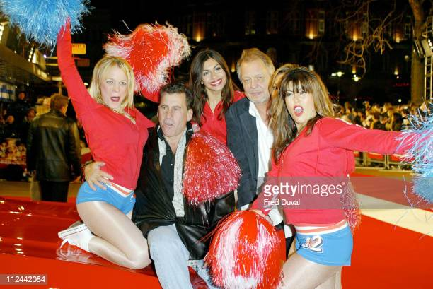 David Soul and Paul Michael Glaser during Starsky and Hutch London Premiere Arrivals at Odeon Leicester Square in London Great Britain