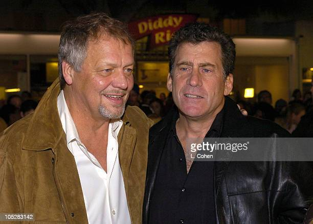 David Soul and Paul Michael Glaser during World Premiere of Starsky Hutch Red Carpet at Mann's Village in Westwood California United States