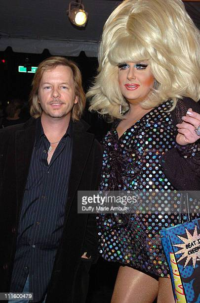 David Spade and DJ Lady Bunny during Comix Grand Opening - September 14, 2006 at Comix in New York City, New York, United States.