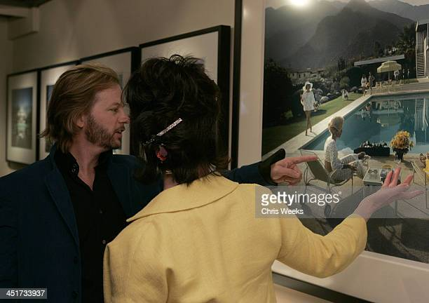 David Spade and Kate Spade with photographs by Slim Aarons