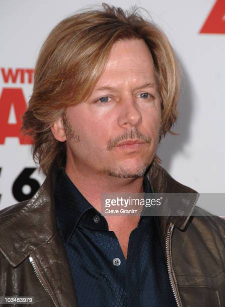 """David Spade arrives at Sony Pictures Premiere of """"You Don't Mess With the Zohan"""" on May 28, 2008 at the Grauman's Chinese Theatre in Hollywood,..."""