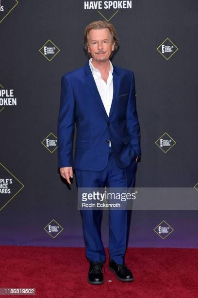 David Spade attends the 2019 E People's Choice Awards at Barker Hangar on November 10 2019 in Santa Monica California