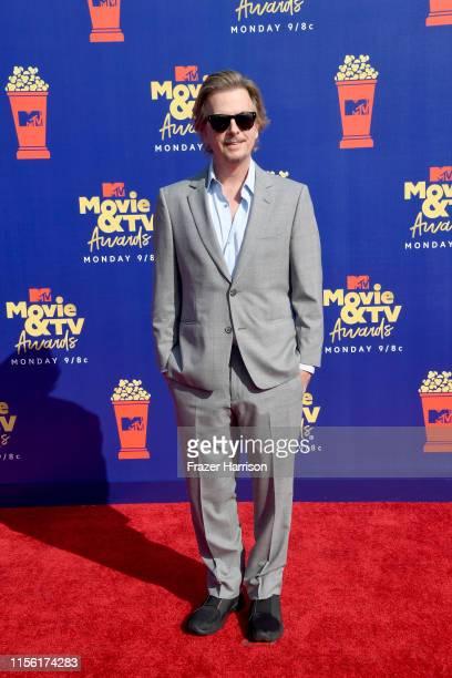 David Spade attends the 2019 MTV Movie and TV Awards at Barker Hangar on June 15 2019 in Santa Monica California