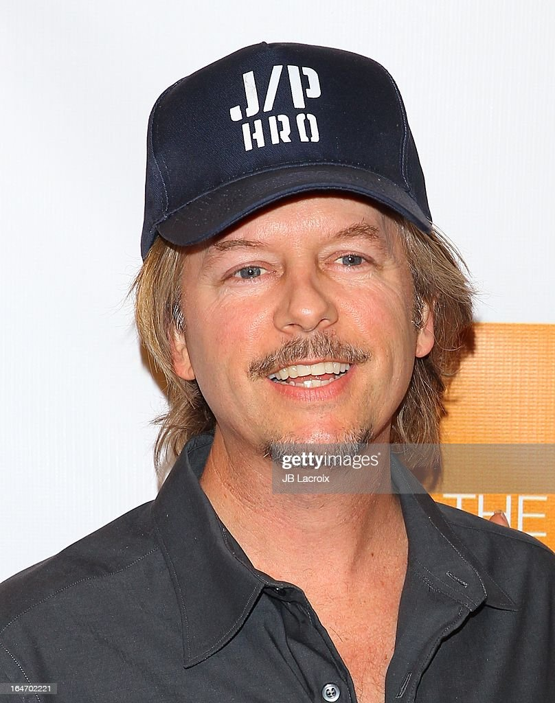 David Spade attends the book launch party for 'The Beauty Detox Foods' at Smashbox West Hollywood on March 26, 2013 in West Hollywood, California.