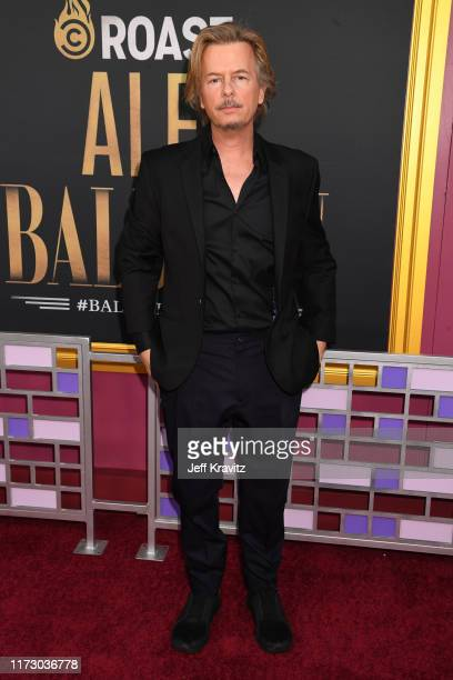 David Spade attends the Comedy Central Roast of Alec Baldwin at Saban Theatre on September 07 2019 in Beverly Hills California