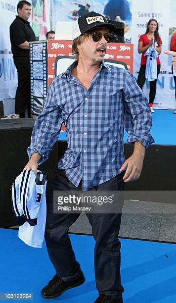David Spade attends the Dublin Premiere of 'Grown Ups' on July 27 2010 in Dublin Ireland