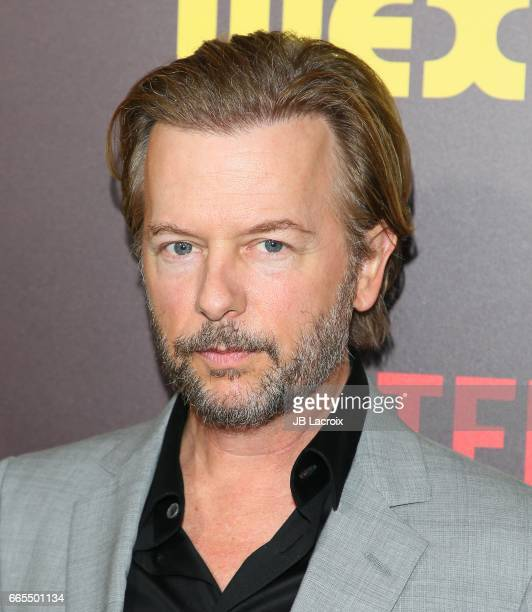David Spade attends the premiere of Netflix's 'Sandy Wexler' on April 6 2017 in Hollywood California