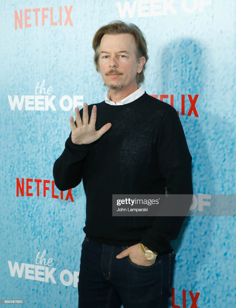 David Spade attends 'The Week Of' New York premiere at AMC Loews Lincoln Square on April 23, 2018 in New York City.