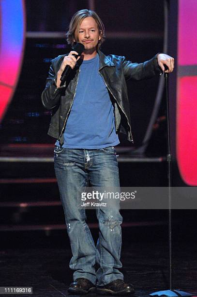 David Spade during Comedy Central's Last Laugh '05 Show and Backstage at Orpheus Theater in Los Angeles California United States